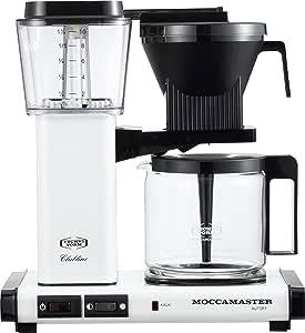 モカマスター ドリップ コーヒーメーカー メタリックホワイト