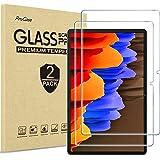 """ProCase [2枚セット] Galaxy Tab S7 Plus 12.4"""" 2020 専用 液晶保護フィルム 強化ガラス スクリーンプロテクター 適用機種: Galaxy Tab S7 Plus 2020発売 12.4インチ (SM-T970"""