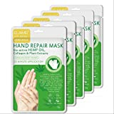 Hand Peel Mask 5 Pack, Moisturizing Gloves, Exfoliating Hand Peeling Mask, Hand Mask, Moisture Enhancing Gloves for Dry Hands