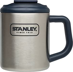STANLEY(スタンレー) スチールキャンプマグ 0.35L シルバー 01697-001 (日本正規品)