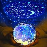 Star Night Light for Kids, Elmchee Universe Night Light Projection Lamp, Christmas Romantic Star Sea Birthday Projector lamp