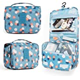 Multifunctional Lightweight Toiletry Bags Travel Cosmetic Bags For Women&Girls Waterproof Make Up Organizer with Sturdy Hook