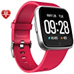 Warmwave Fitness Tracker - Activity Tracker with Step Counter - Waterproof Smart Watch with Heart Rate Monitor - Fit...