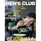 MEN'S CLUB (メンズクラブ) 2021年11月号 (2021-09-24) [雑誌]