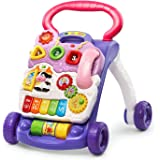 VTech 80-077030 Sit-to-Stand Learning Walker, Lavender - Amazon Exclusive (Frustration Free Packaging)