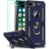 iPhone 8 Plus Case, iPhone 7 Plus Case, iPhone 6 Plus Case, LeYi Military Grade Armor Full-Body Protective Phone Cover Case w
