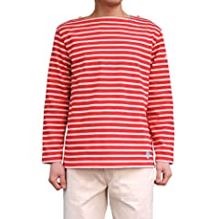 Orcival B211 Cotton Lourd: Rouge / Ecru