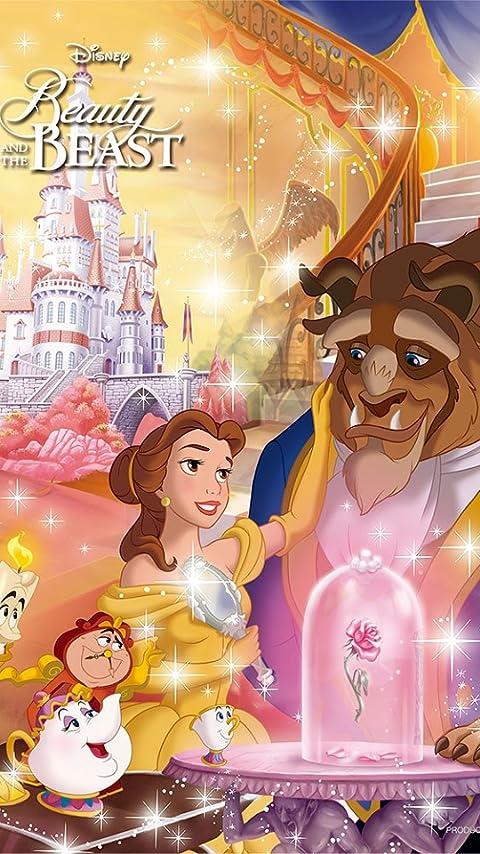 ディズニー 美女と野獣 愛のバラは輝いて XFVGA(480×854)壁紙 画像50151 スマポ