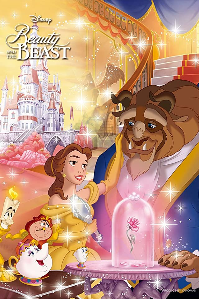 ディズニー 美女と野獣 愛のバラは輝いて iPhone(640×960)壁紙 画像49542 スマポ