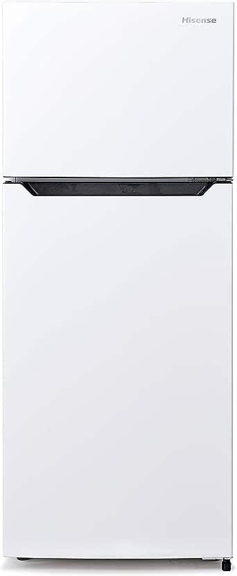 ハイセンス 冷凍冷蔵庫(幅48.1cm) 120L 2ドア 右開き ホワイト HR-B12C