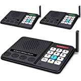 Intercoms Wireless for Home - GLCON Wireless Intercom 1 Mile Long Range 10 Channel 3 Code - Room to Room Home Intercom System
