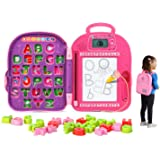 LeapFrog Go-with-Me ABC Backpack, Pink