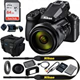 COOLPIX P950 Compact Digital Camera with 83x Optical Zoom Super Telephoto Lens + Expo Basic Accessories Bundle