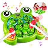 HOMOFY Interactive Whack A Frog Game, Learning, Active, Early Educational Toys for 2 3 4 5 6 7 8 Year Old Boys,Girls,Kids and