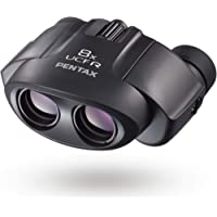 PENTAX 双眼鏡 8×21 UCF R ブラック 高級プリズムBak4搭載 倍率8倍 明るくクリアでコントラストの高…