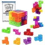 SEASOR 最強の頭脳ゲーム 立体パズル マグネットパズル 賢人パズル マグネットブロック マグネットおもちゃ 磁石ブロック 積み木