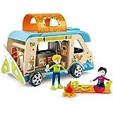Hape E3407 Adventure Van Toy (23 Pieces)