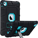 ULAK iPad Mini Case, iPad Mini 2 Case, iPad Mini 3 Case, iPad mini Retina Case, Three Layer Heavy Duty Shockproof Protective