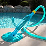 XtremepowerUS Automatic Suction Vacuum-Generic Climb Wall Pool Cleaner - 75037