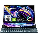 ASUS 有機EL ノートパソコン ZenBook Pro Duo 15 OLED (Core i7/32GB・SSD 1TB/15.6型/RTX 3070/3,840×2,160/セカンドディスプレイ/Webカメラ/ASUS Pen付/MS Off