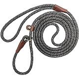 YUCFOREN 7FT Slip Lead Dog Leash, Durable Nylon Rope Training Leash for Small Medium Large Dogs