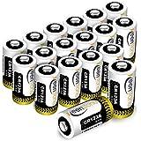 CR123A 18個 3Vリチウム電池 1600mAh Keenstone Qrio Lock 電池 PTC保護付き 非…