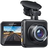 APEMAN Mini Dash Cam 1080P Full HD Dash Camera for Cars Recorder Super Night Vision, 170° Wide Angle, Motion Detection, Parki