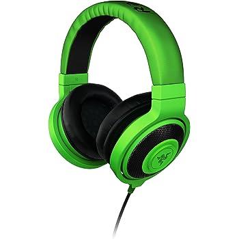 Razer kraken - Green アナログ接続 ステレオ ゲーミング&ミュージック ヘッドフォン 【正規保証品】 RZ12-00870100-R3M1