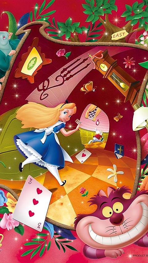 ディズニー ホワイトラビットを追いかけて XFVGA(480×854)壁紙 画像35055 スマポ