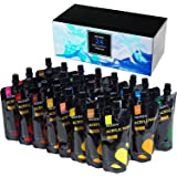 MEEDEN Acrylic Paint Set of 24 Colors/Pouches (120 ml/4.06 oz.) Vibrant Colors Rich Pigments Non-Toxic Acrylic Paints, for Bu