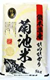 【精米】 熊本産 ヒノヒカリ 5kg 令和2年産 10年連続特A受賞 阿蘇天然水育ち 残留農ゼロ