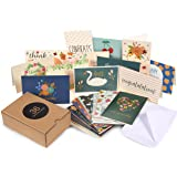Assorted Greeting Cards – 36-Pack All Occasion Cards, Blank Cards Box Set, Note Cards Includes Happy Birthday, Congratulation