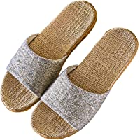 [L.] ルームシューズ 室内 はき心地の良さを追求した麻のサンダル スリッパ 室内履き レディース メンズ