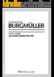 BURGMULLER(ブルクミュラー) 3線譜,クロマチックノーテーション
