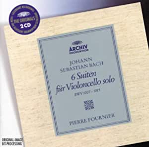 Bach: 6 Suiten fur Violoncello solo