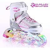 子供用 インラインスケート キッズ ローラースケート ジュニア 女の子 男の子 初心者 向け Inline skate…