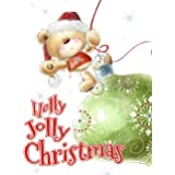 Holly Jolly Christmas: a Grayscale Christmas Coloring Book for the Whole Family I Color Santa Claus, Snowmen, Adorable Animal