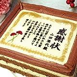 母の日 ケーキ ギフト 名入れ 名前入れ ケーキで感謝状 5号 お母さん カーネーション メッセージ ケーキ 感謝状 お菓子メッセージ入りプレゼント スイーツ 贈り物 プチギフト 母の日ギフト