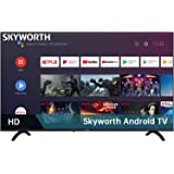Skyworth E20300 32-Inch 720P HD LED Smart TV with Google Assistant Built-in (Also work with Alexa), Android TV with HDMI, WI-