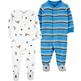 Carter's Baby Boys' Cotton Sleep & Play (Pack of 2)
