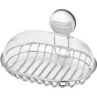 レック お風呂の壁に マグネット 石けん皿 フタ付き ( 強力磁石 ) ステンレス BB-510