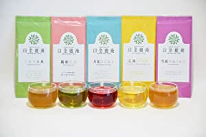 白金癒淹 漢方茶飲み比べセット 5g×3包 5種類