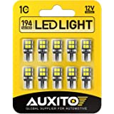 AUXITO 194 LED Light Bulb 6000K White 168 2825 W5W T10 Wedge 14-SMD LED Replacement Bulbs for Car Dome Map Door Courtesy Lice