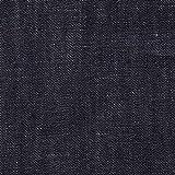 【154cm幅/綿100%】9オンス インディゴデニム 1m単位で切り売りいたします (ブルーブラック系 (濃い藍色))