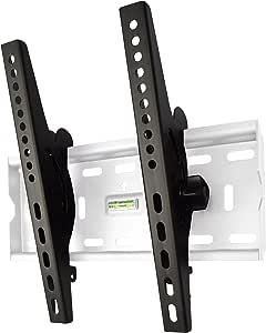 スタープラチナ TVSTIFT100SW テレビ壁掛け金具 26-46インチ対応 TVセッターチルトFT100 Sサイズ ホワイト