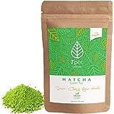 ORGANIC Japanese Matcha Green Tea Powder - 100 Grams - 200 Serves - CEREMONIAL GRADE Matcha Green Tea Powder - Ideal for Matc
