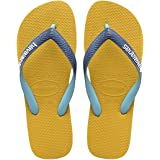 havaianas Unisex's Top Mix Flip Flops, Multicolour (Graphite/Grey), 4/5 4.5 UK