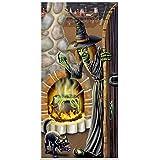 Beistle 00023 Witch's Brew Door Cover