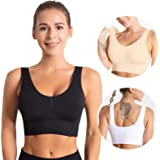 OUDOTA Sports Bras for Womens Yoga Bra Comfortable Sleep Bras with Removable Pads for Gym Fitness Workout Bra