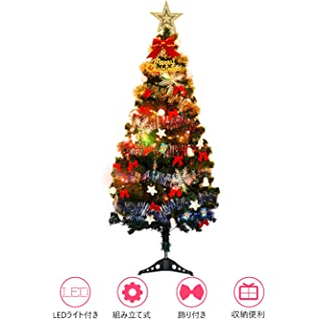 [YACONE] クリスマスツリー 150cm 卓上 ミニ ツリー90cm 電飾つき セット かわいい クリスマスグッズ インテリア 用品 クリスマスプレゼントに最適 おしゃれ 高級クリスマスツリー 150cm
